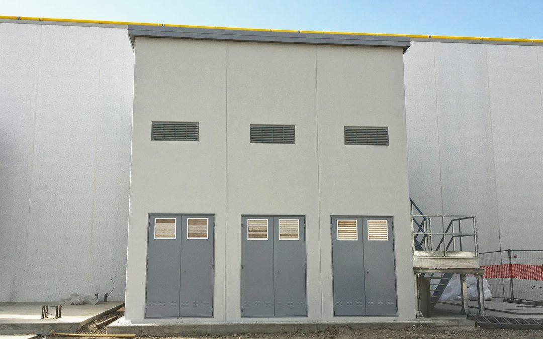 Cabina elettrica prefabbricata – stabilimento DORELAN