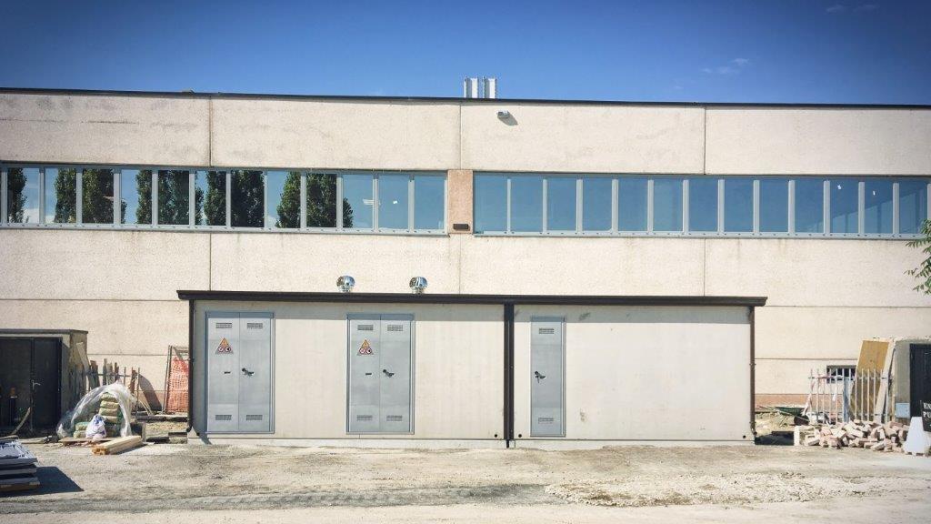 Cabine elettriche prefabbricate – Stabilimento COESIA GROUP