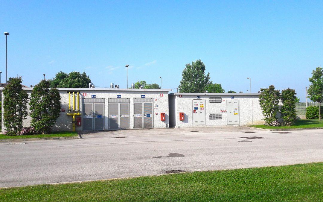Cabina elettrica a pannelli – stabilimento DORELAN