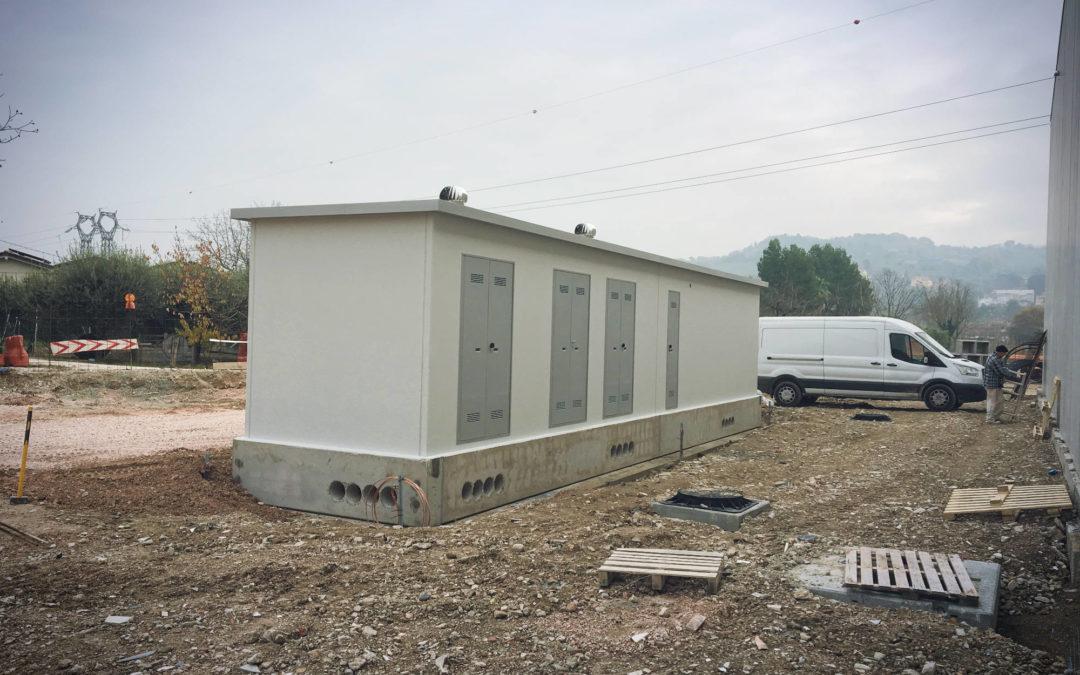 Cabine elettriche con struttura a pannelli a Vallefoglia (PU)