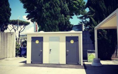 Installato nell'aeroporto di Napoli il nostro bagno Allegro