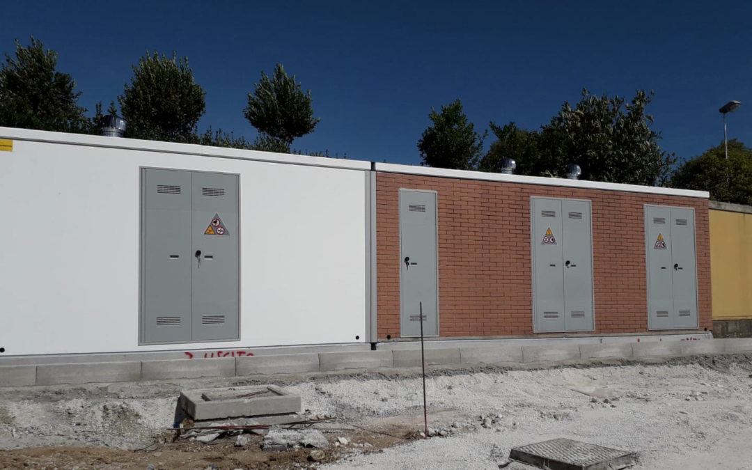 Civitanova Marche, cabine elettriche