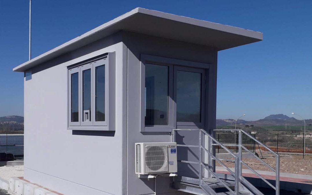 Passo Corese, installazione cabine elettriche e locali guardianie