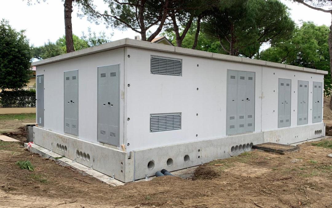 Cervia, installazione di cabina elettrica