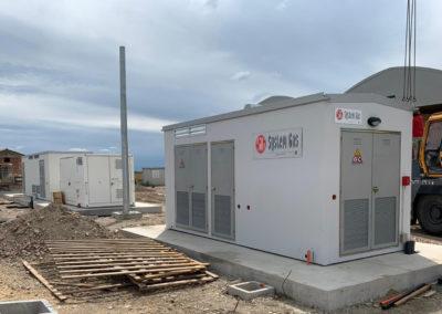 Codigoro (FE), installazione di cabina trattamento gas